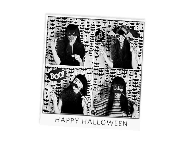 Brittany Sazonoff Halloween PhotoBOOth