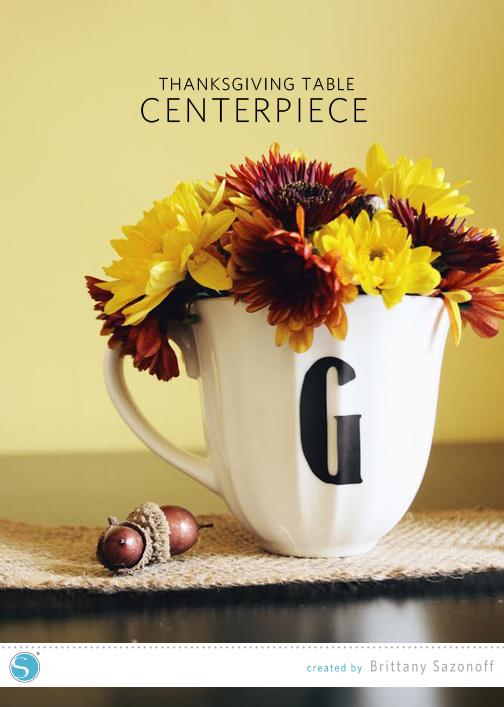 Bsaz Creates | Thanksgiving Table Centerpiece