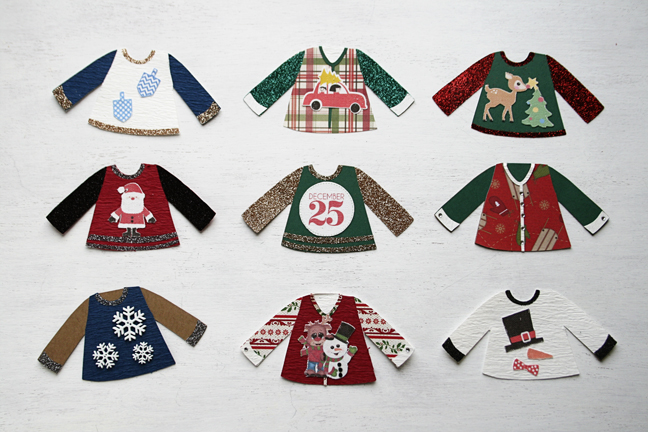 Brittany Sazonoff for Silhouette America - Ugly Sweater Garland