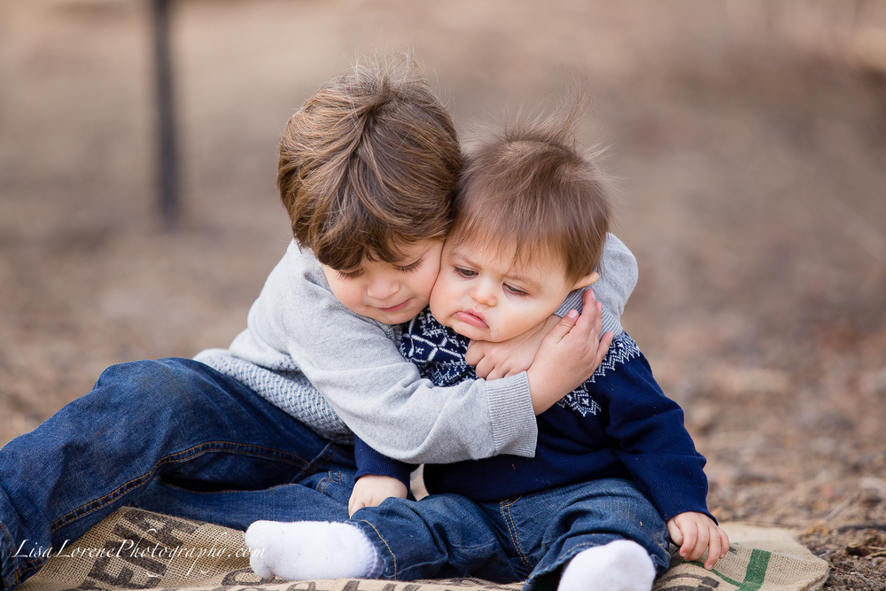 Now that is some big brother love! :)