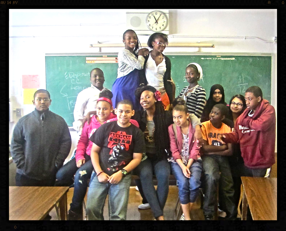 Career Day / Poetry Discussion, Park Slope Charter School