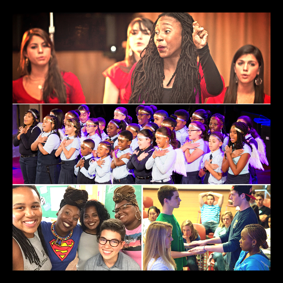 NMH School, The Bronx Charter School for Children & The Sadie Nash Leadership Project (top to bottom)