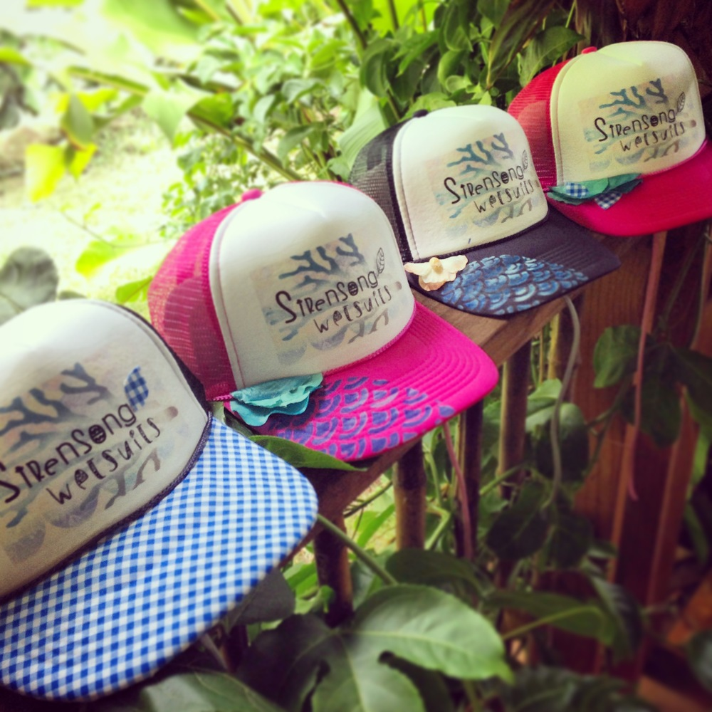 Sirensong Surf Hats
