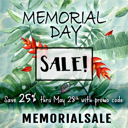 It's Memorial Day weekend and we're celebrating the holiday with a SALE!💗💗💗 click any of the products tagged in this post to jump to our online boutique (the promo code works for any and all items on the site). Enjoy the weekend and take time to remember what Memorial Day is all about... celebrating and remembering all those that we've lost 💗 #lifeisbeautiful #peopleareprecious