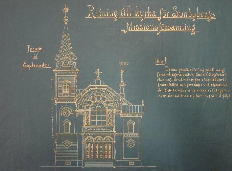 Byggnadslovsritning,1904