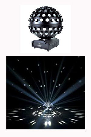 Mirror Ball - rotating - internal light source