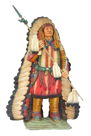 Life Size Indian Chief