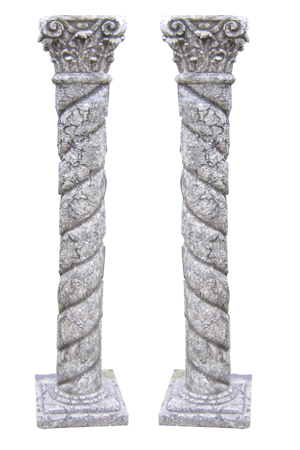 Columns - 6 available  Fully 3D  Approx 180cm high
