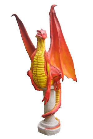 Dragon - Fully 3D  Approx dimensions: 79cm x 72cm x 213cm