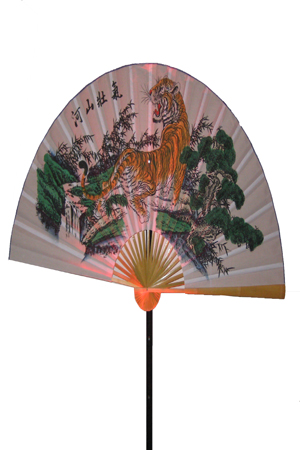 Giant Chinese Fans on stands