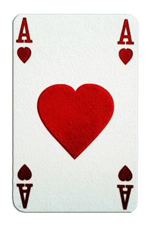 Giant Ace of Hearts - Over 6' tall - 1.8m