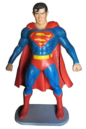 Life sized 3D Superman
