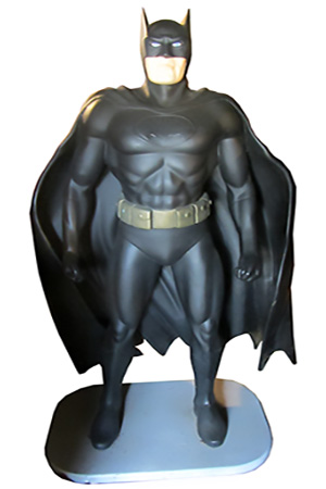 Life sized 3D Dark Knight
