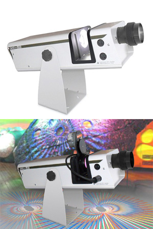 Disc effect projector