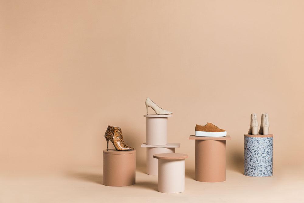 Lookbook för Jennie Ellen Shoes av fotograf Amanda Nilsson.