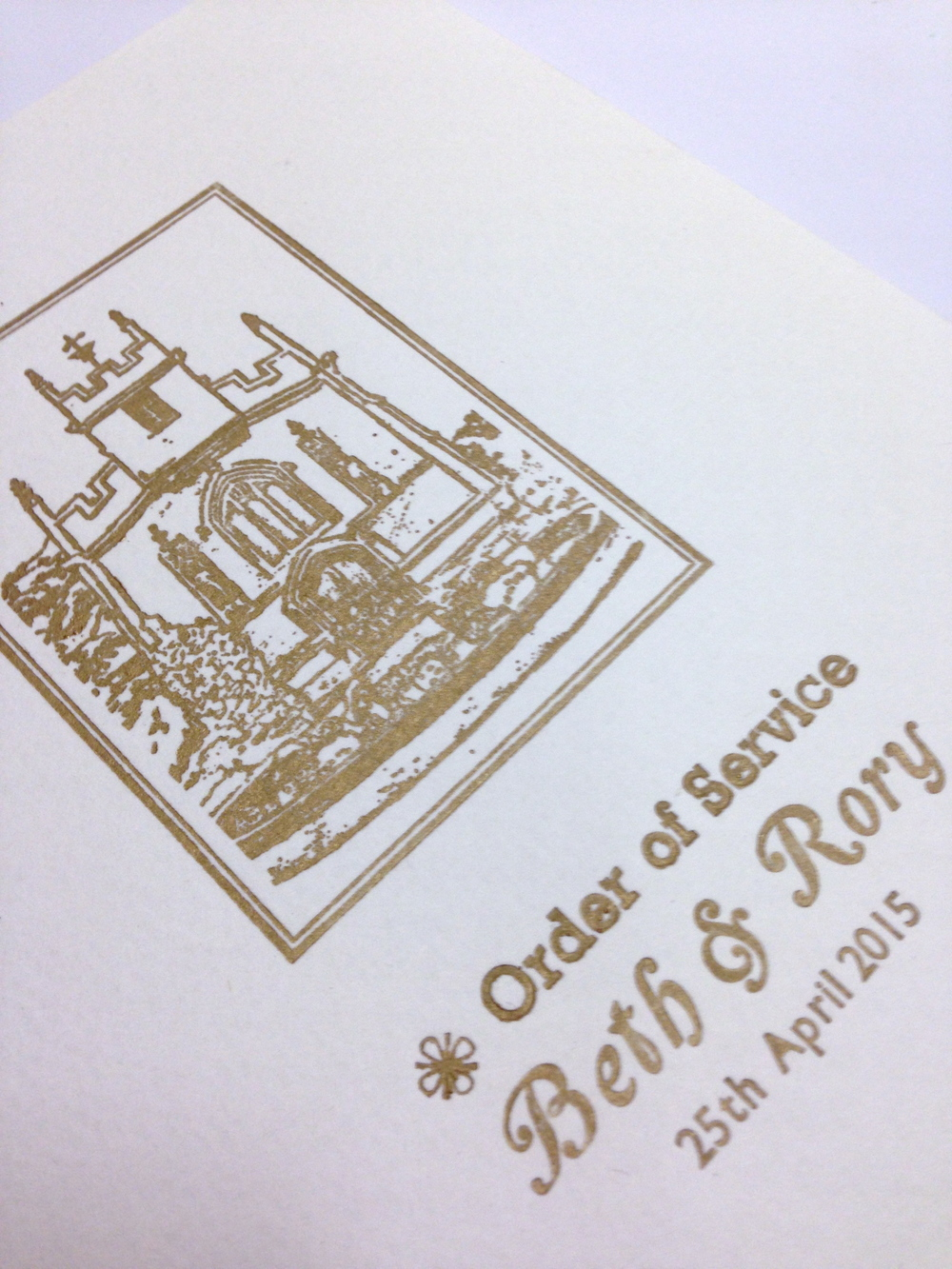 sudeley castle wedding invitations