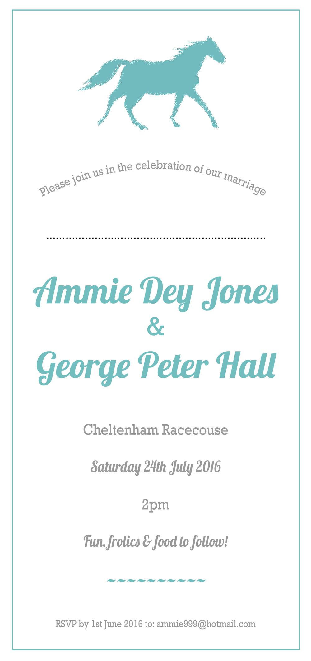 cheltenham racecourse invite
