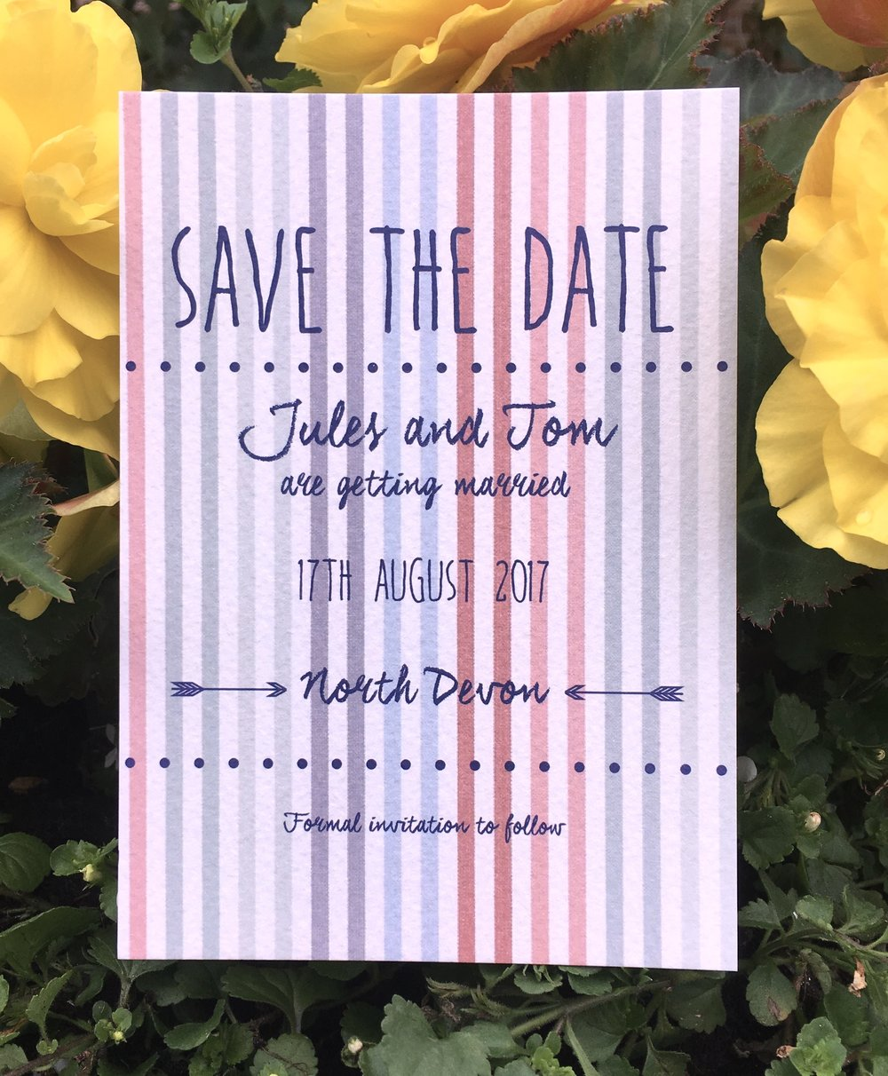 seaside wedding invitations