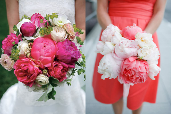 fuchsia pink wedding flowers