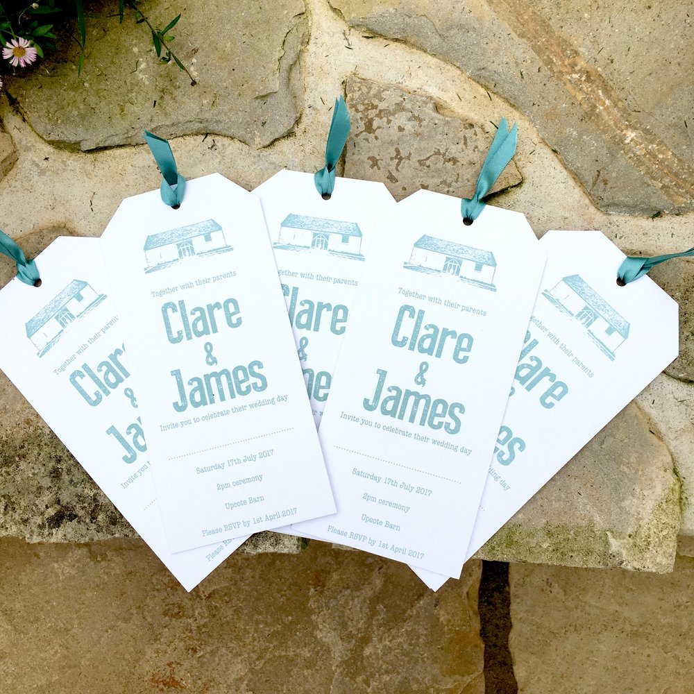 upcote barn invitations