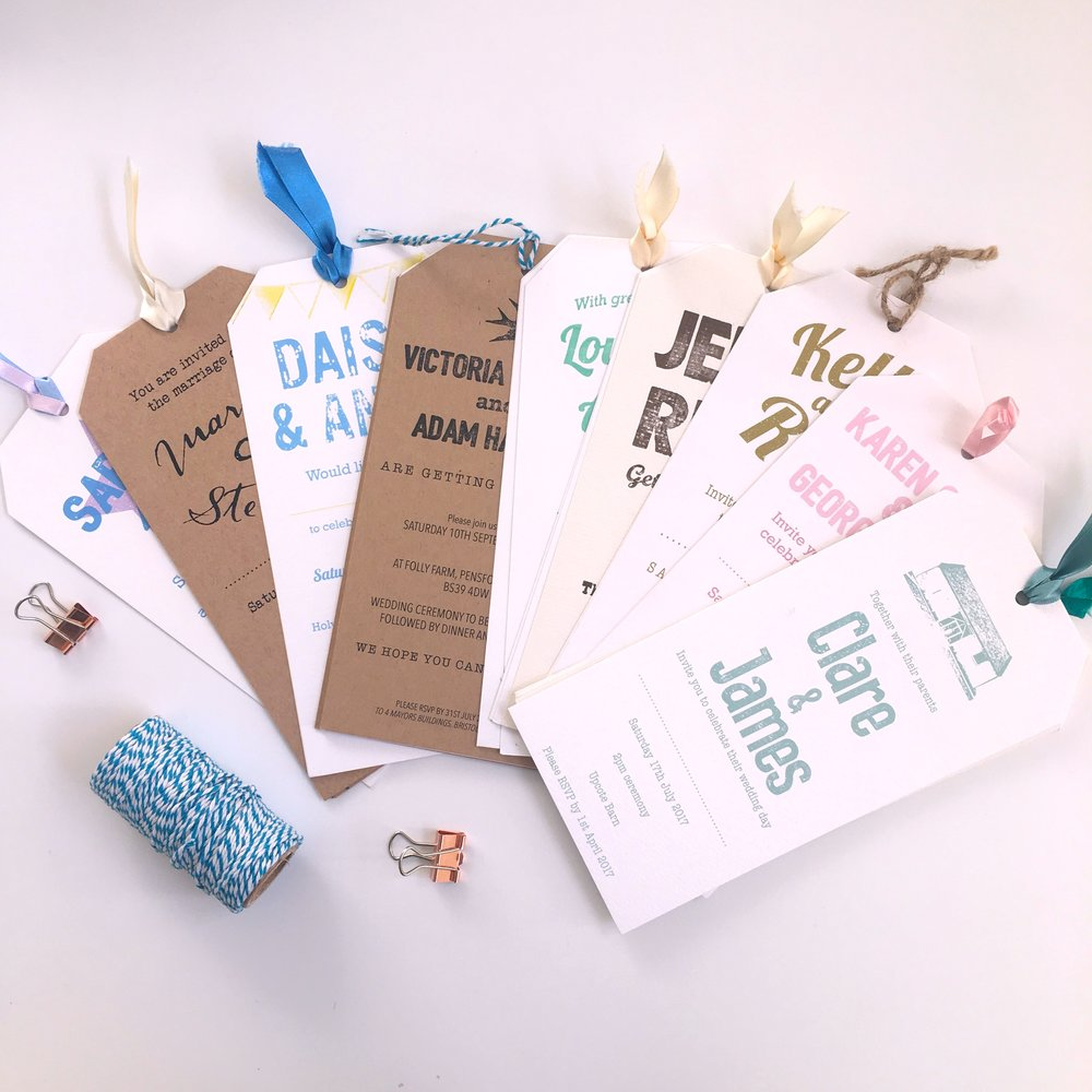 travel tag invites