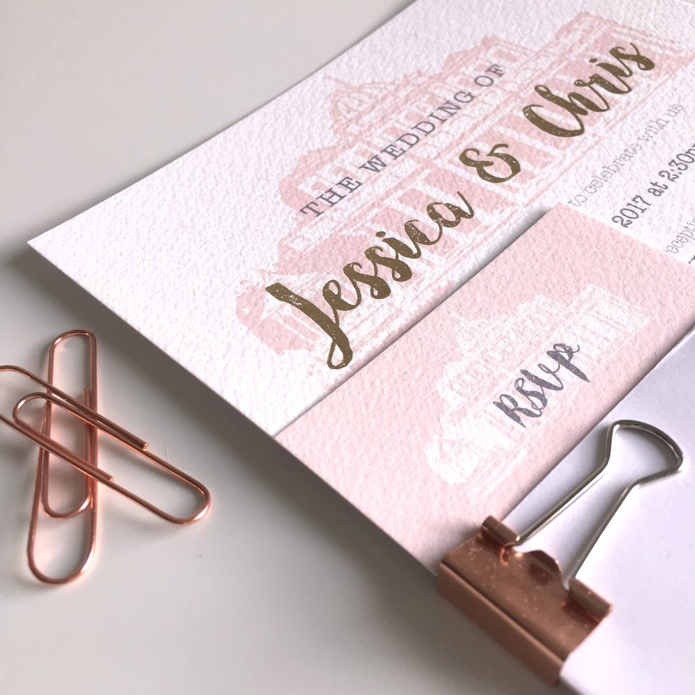 pittville pump rooms wedding invitations
