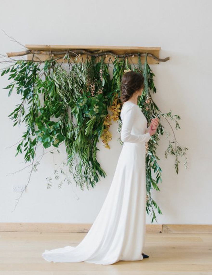 Green Foliage Wedding Inspiration