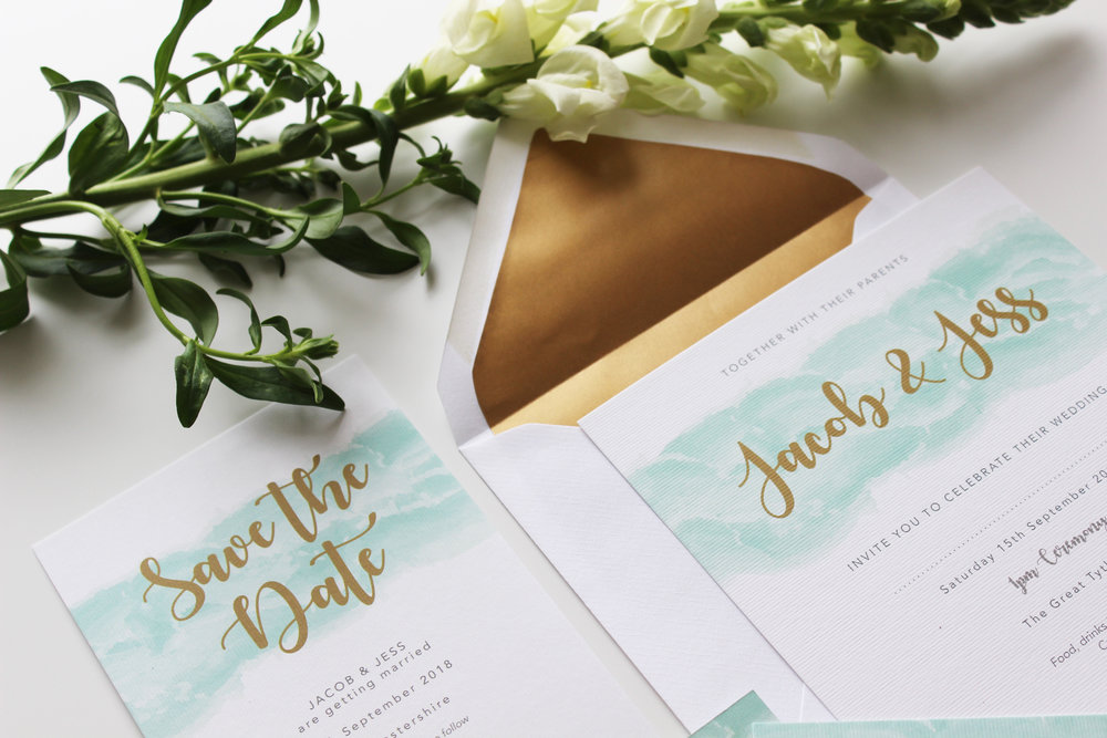Tailored Collection Wedding Invitation