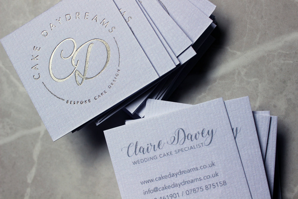Business Cards: Cake Daydreams