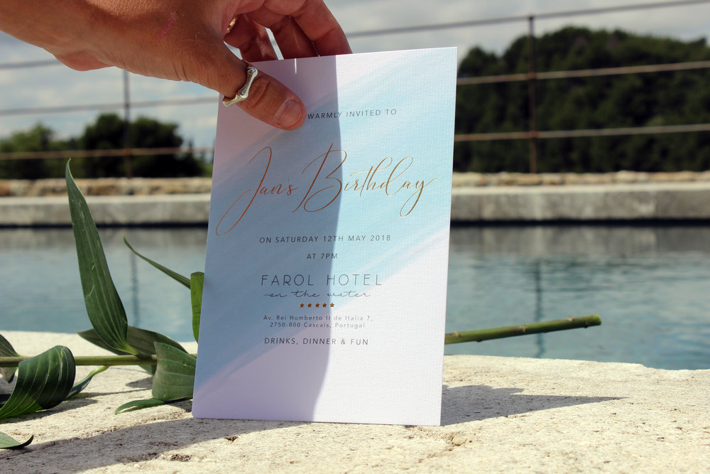 Sea Inspired Invitations