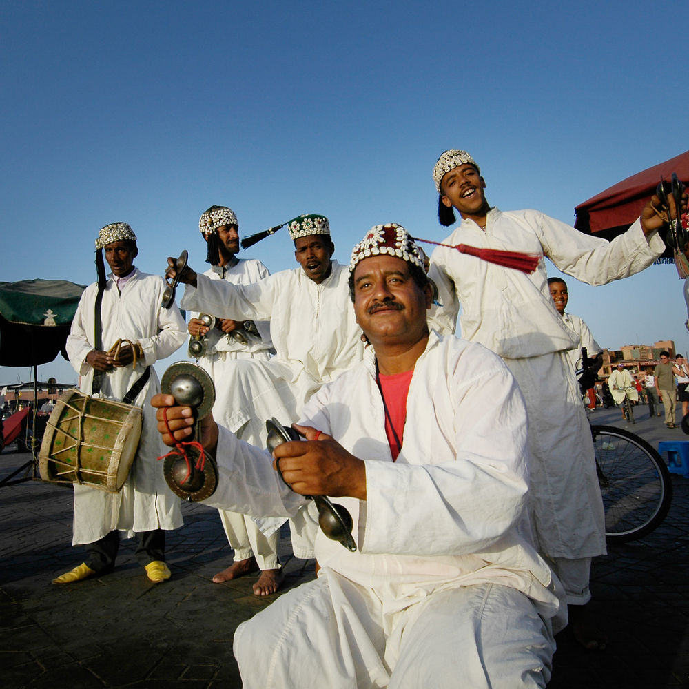 Marrakech Musicians James Yeats-Brown.jpg
