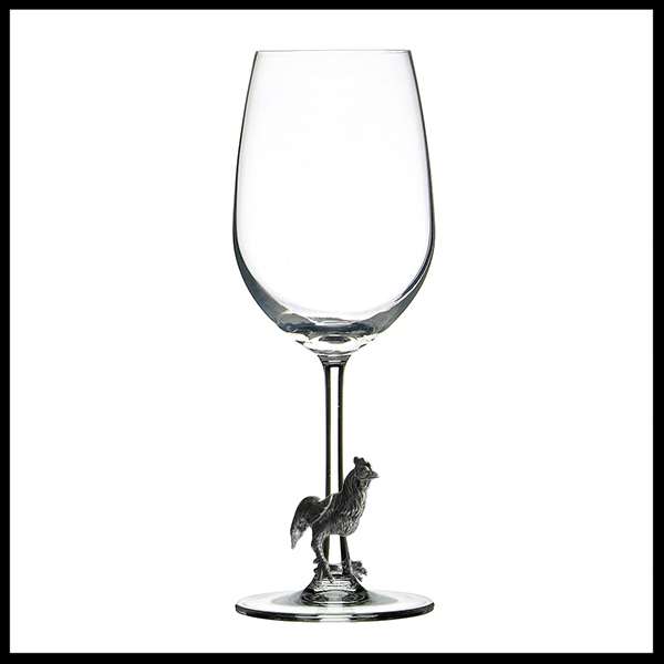 MENAGERIE Red Wine Glass - Rooster.jpg