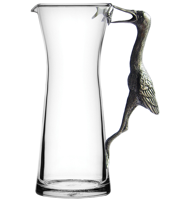 MENAGERIE Pewter Carafe/Pitchers, $65