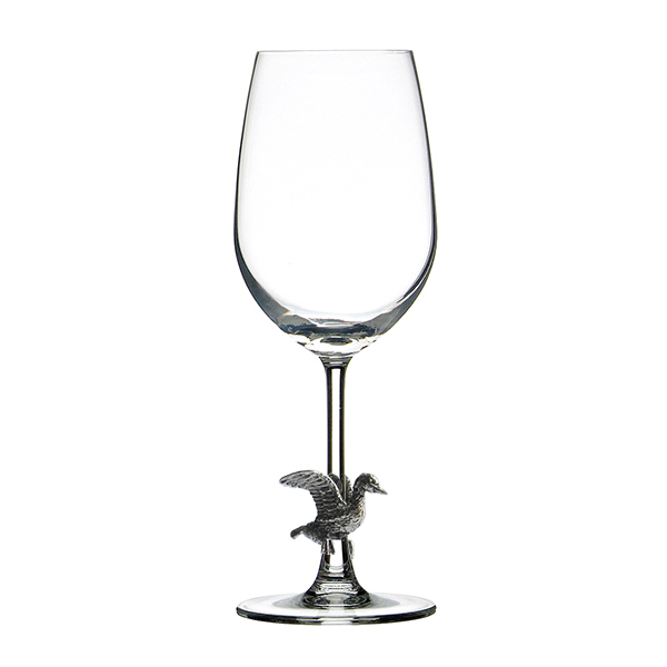 MENAGERIE Fine Pewter & Lead-Free Crystal Red Wine Glasses, $29