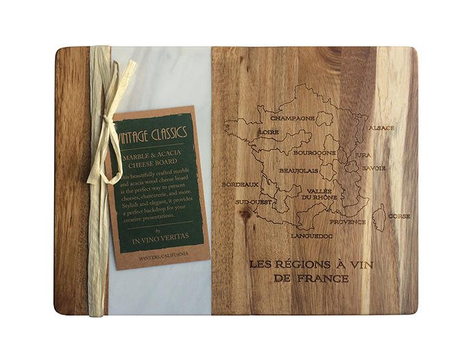 VINTAGE CLASSICS French Wine Regions Cheese Boards, $26