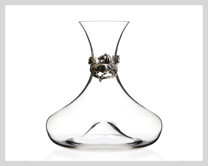 Menagerie Crystal Wine Decanters, now 20% off!