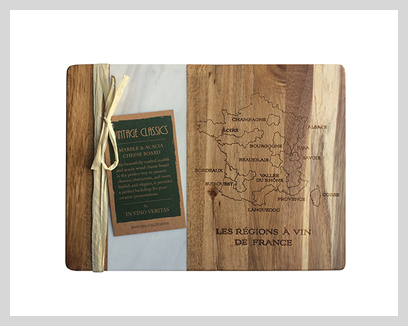Vintage Classics Cheese/Cutting Boards, $26