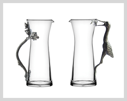 Menagerie Carafes/Pitchers, $65