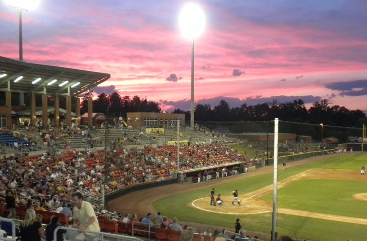 Hickory Crawdads Baseball - A traditional hometown baseball team with fireworks on most Friday nights.  A must see for locals and visitors alike! http://www.milb.com/schedule/index.jsp?sid=t448