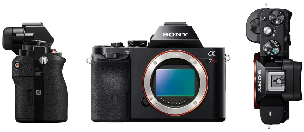 Drew Steven Photography Sony A7r Top side front View