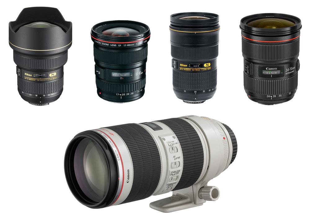Drew Steven Photography Primes vs Zooms. 14-24mm 17-40mm 24-70mm 70-200mm Nikon Canon