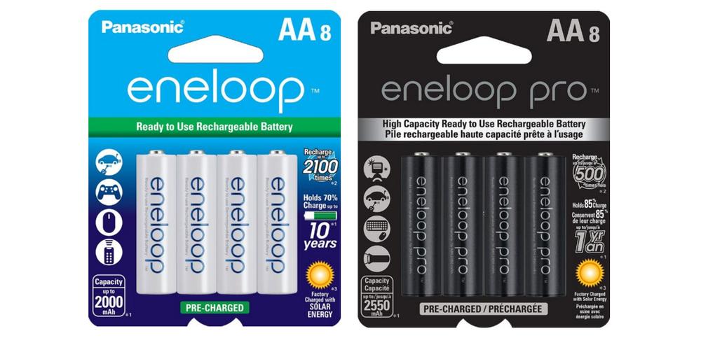 Drew Gray Photography Eneloops vs Eneloop Pro