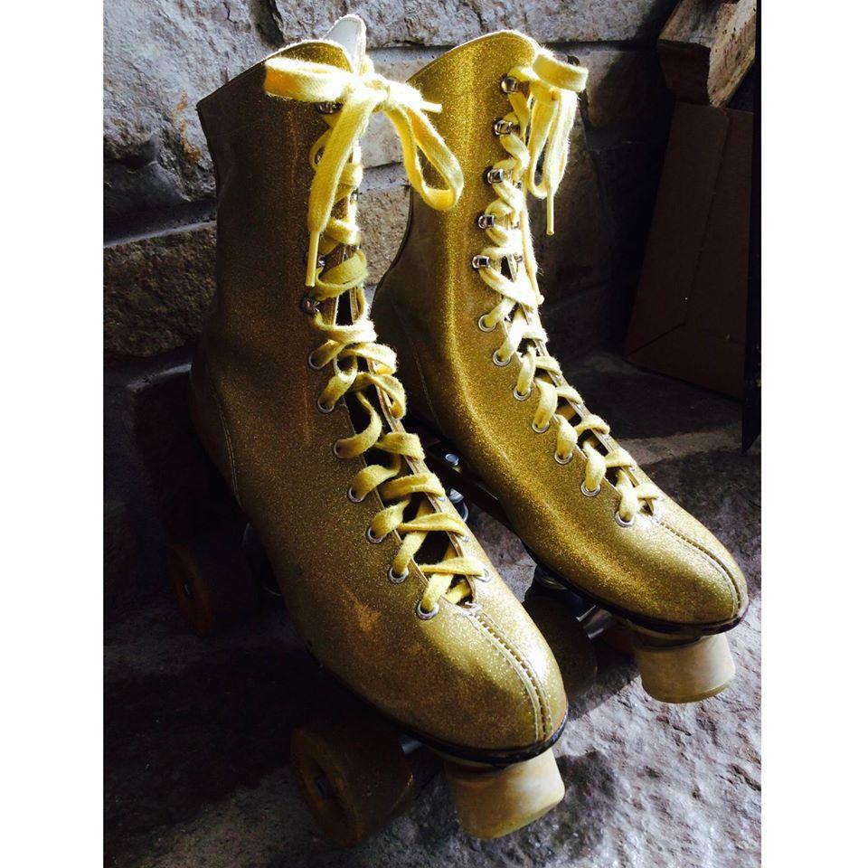 Golden Rollerskate