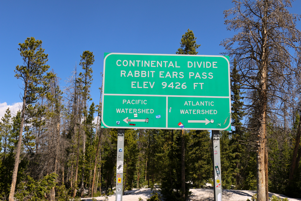 Over the divide we go