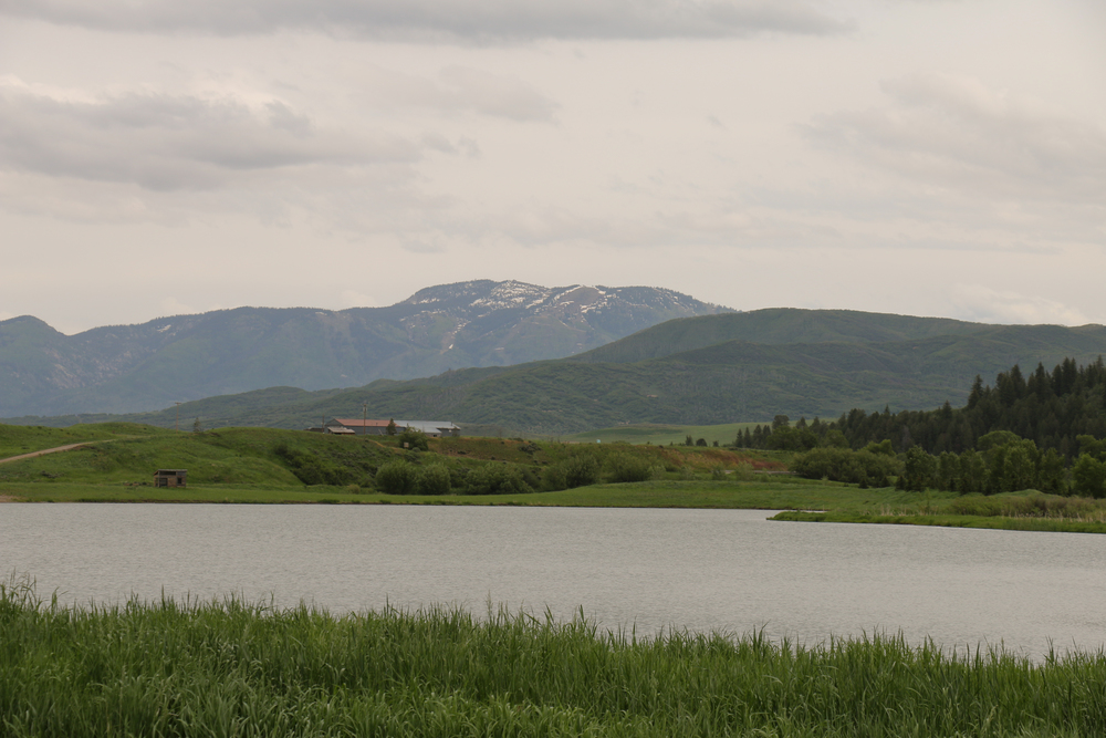 The beautiful Yampa River valley