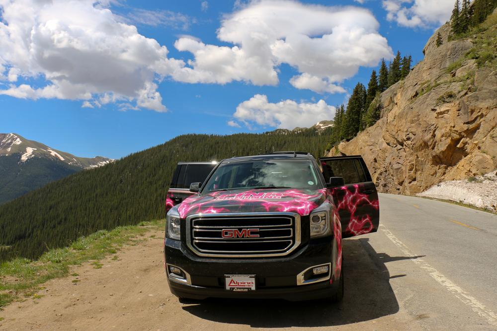 The Pink Lightningmobile