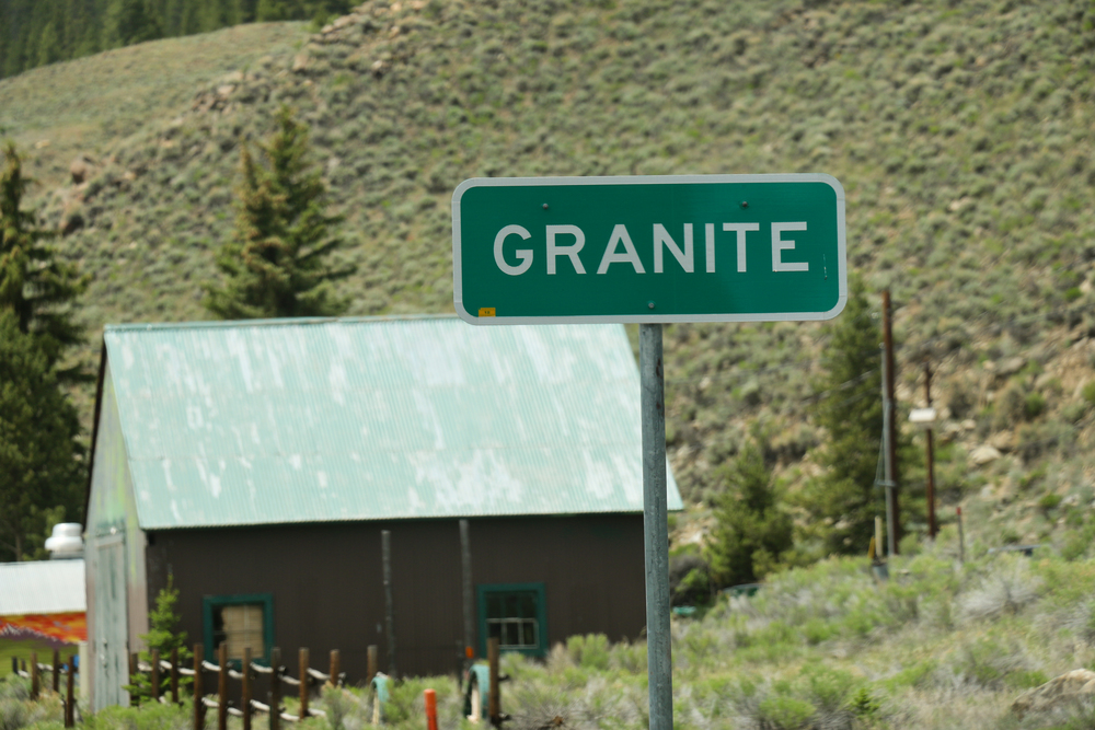 A stone's throw to Granite