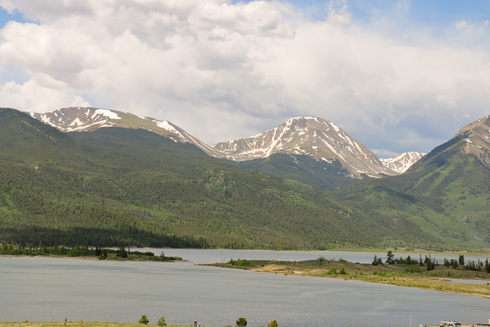 Twin Lakes and Mt. Elbert