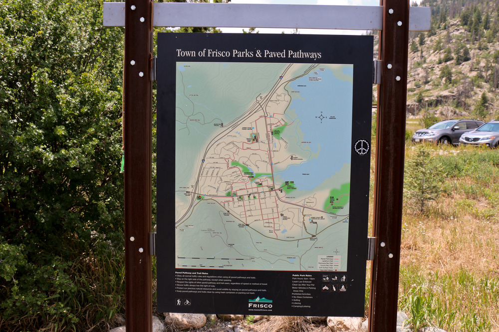 Our trail map