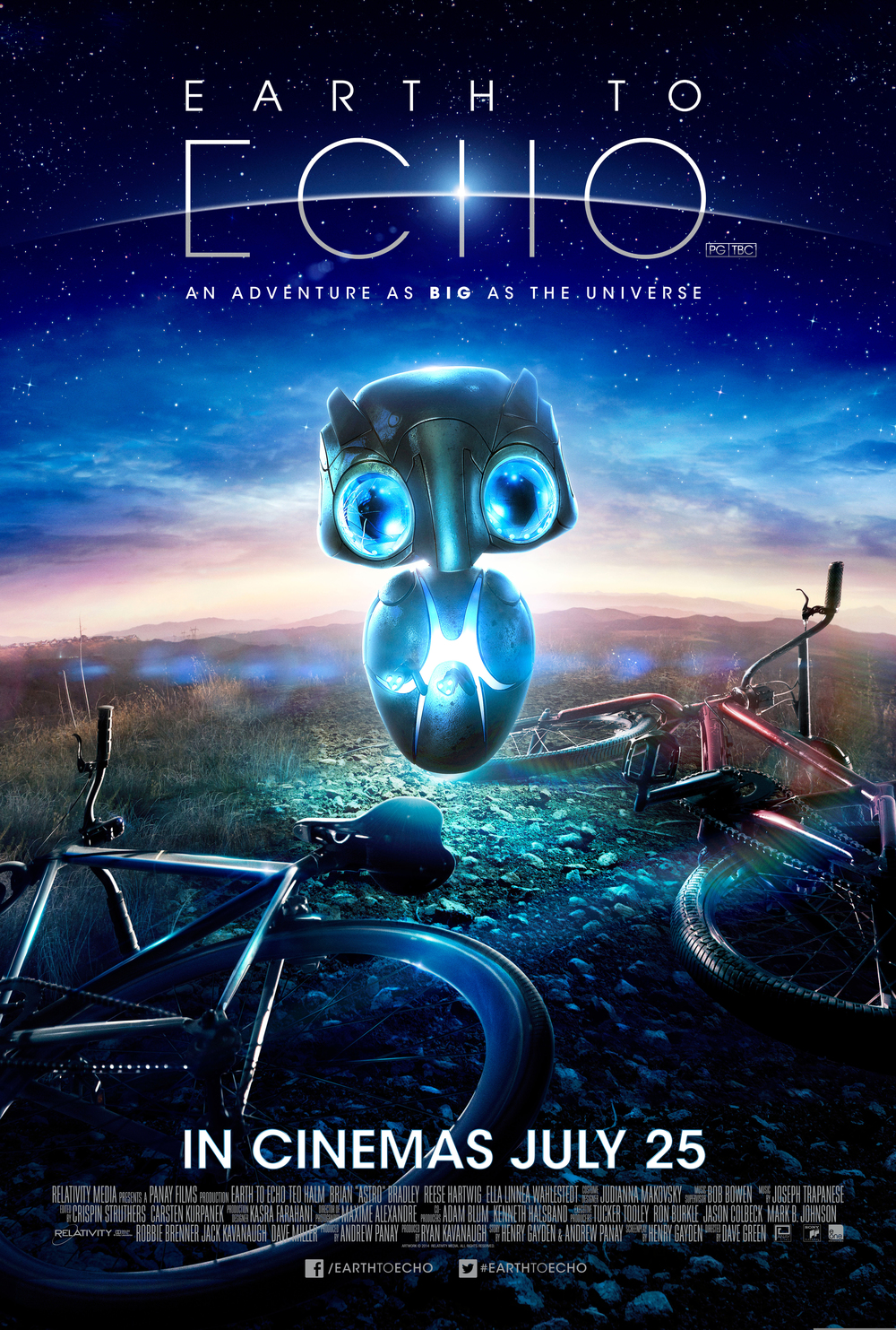 Outdoor movie earth to echo welcome to southern village
